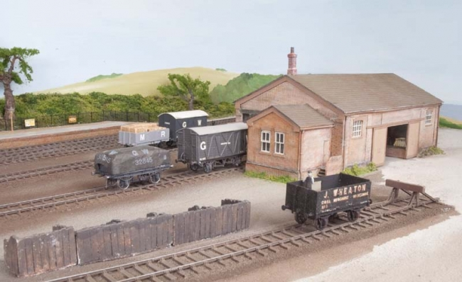 A quiet moment in the goods yard