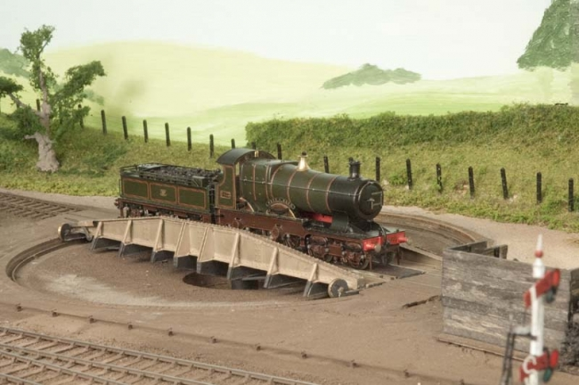 City of Bath on the turntable