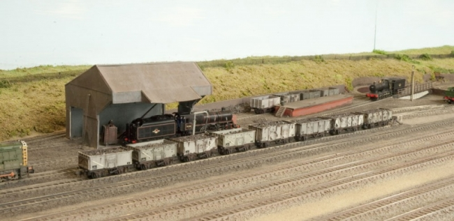 Coaling stage and turntable