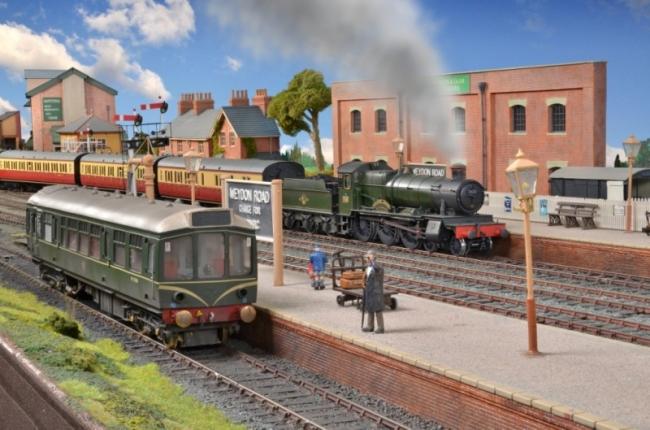 Contrasting Passenger Trains