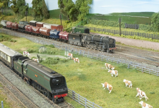 West Country passes the 9F