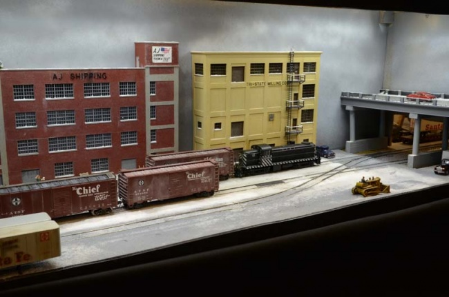 Tilley Yard South (HO)